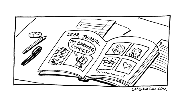 Ways-to-draw-Journal-Comics